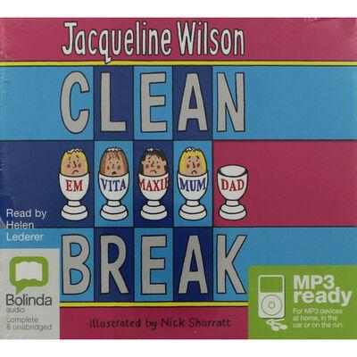 Jacqueline Wilson Clean Break: MP3 CD image number 1