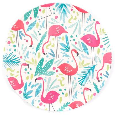 Flamingo Bamboo Eco Plates - Set of 4 image number 1