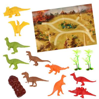 Assorted Mini Dinosaur Carry Case Set image number 5