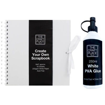 Easter Create Your Own Ultimate White Scrapbook Bundle image number 2