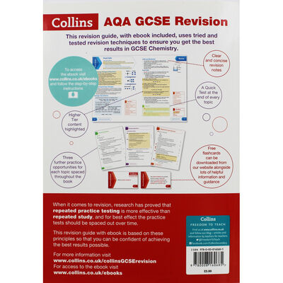 AQA GCSE Chemistry Revision Guide image number 3