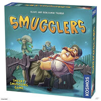 Smugglers Board Game