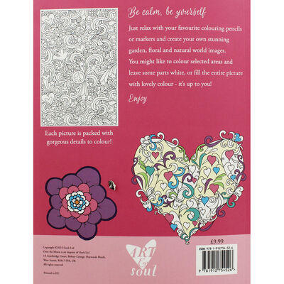 Art and Soul Love and Kisses Colouring Book image number 3