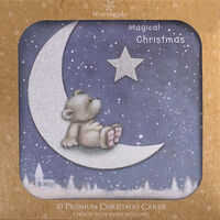 Bear Christmas Cards: Pack Of 10