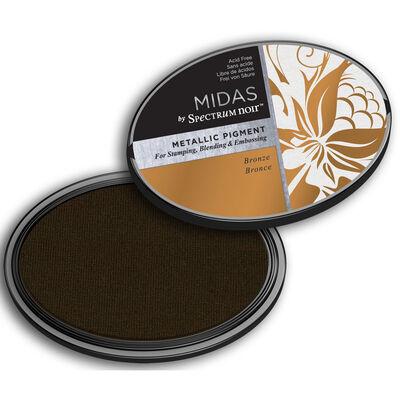 Midas by Spectrum Noir Metallic Pigment Inkpad - Bronze image number 2