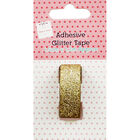 Adhesive Glitter Tape Gold image number 1