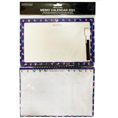 Cat 2021 Memo Calendar image number 1