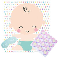 Baby Shower: Pin the Dummy