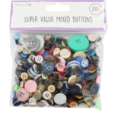 Dovecraft Essentials Mixed Buttons image number 1