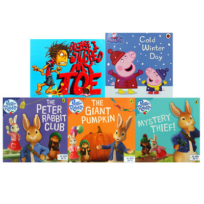 Fun with Peter Rabbit and Friends - 10 Kids Picture Books Bundle image number 2