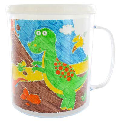 Colour Your Own Dinosaur Mug image number 2