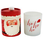 Father Christmas Festive Cinnamon Ho Ho Ho Candle image number 2