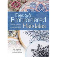 Freestyle Embroidered Mandalas