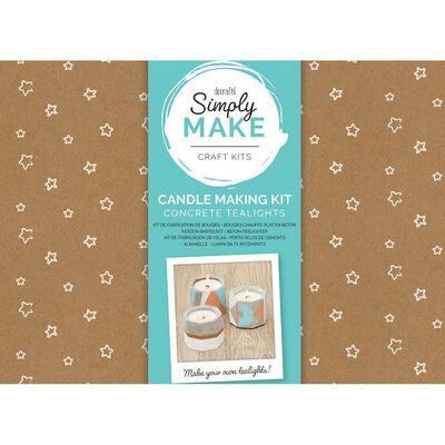 Simply Make - Soy Candle Making Kit - 4 Pack image number 1