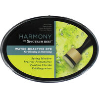 Harmony by Spectrum Noir Water Reactive Dye Inkpad - Spring Meadow