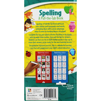 Spelling: A Pull-the-Tab Book image number 2