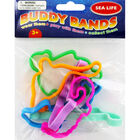 Jumbo Buddy Bands - Sea Life - 6 Pack image number 1