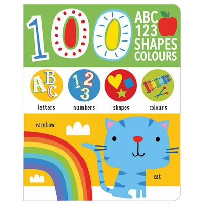 First 100 Alphabet, Shapes, Colours, Numbers image number 1