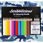 Camo Colouring Pencils - Tin of 24 image number 4