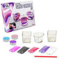 Grafix Make Your Own Glass Jar Candle Decorating Kit