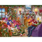 Waddingtons Christmas 1000 Piece Jigsaw Puzzle image number 2