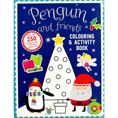 Penguin And Friends Activity Book image number 1