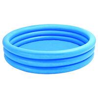 Intex Crystal Blue 3 Ring Inflatable Pool