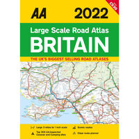 AA 2022 Large Scale Road Atlas of Britain
