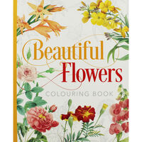 Beautiful Flowers Colouring Book