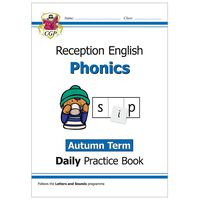 Phonics Daily Practice Book: Reception Autumn Term