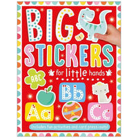 Big Stickers for Little Hands: ABC