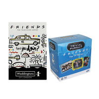 Friends Trivial Pursuit and Playing Cards Bundle