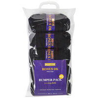 Bonus DK Black Yarn 100g: Pack of 5