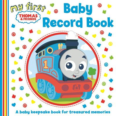 My First Thomas & Friends: Baby Record Book image number 1