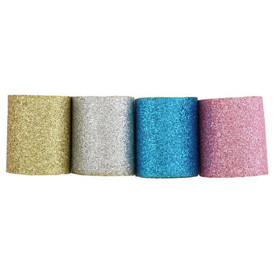 Glitter Adhesive Tape - 4 Pack image number 1