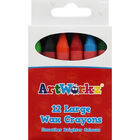 Large Wax Crayons - Pack Of 12 image number 1