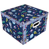 Cartoon Space Collapsible Storage Box