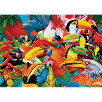 Colourful Birds 500 Piece Jigsaw Puzzle