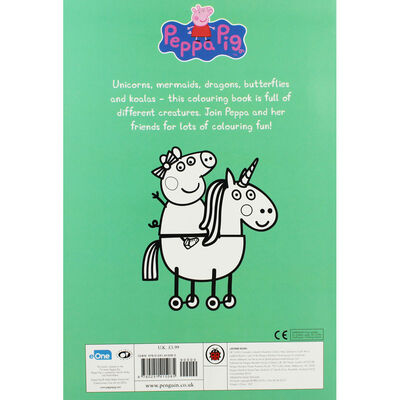 Peppa Pig: Colourful Creatures Colouring Book image number 2