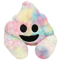 Multi Colour Poo Plush Sofa Snuggles