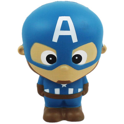 Marvel Avengers Captain America Squishy Toy image number 1