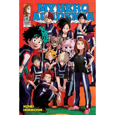My Hero Academia Volume 4: The Boy Born with Everything image number 1