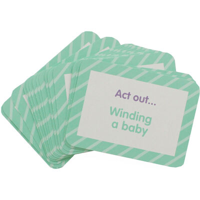 Baby Shower Charade Cards - Pack of 24 image number 2