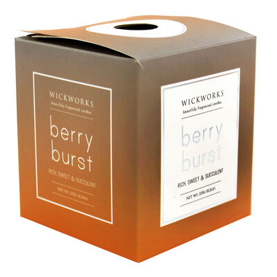 Gold Silver Berry Burst Scented Candle image number 1