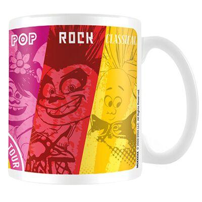 Trolls 2 Colourful Genres Mug image number 1