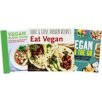 The Vegan Essential Cooking 3 Book Bundle