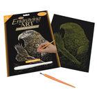 Engraving Art: Eagles image number 1