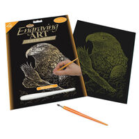 Engraving Art: Eagles