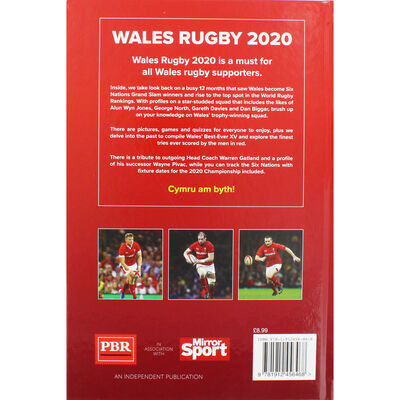 Wales Rugby Annual 2020 image number 3