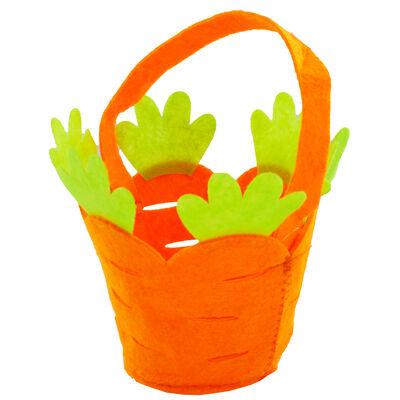 Easter Carrot Felt Bag image number 2